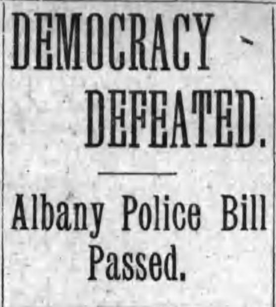 Democracy Defeated