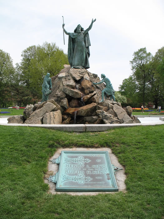 Moses Fountain, Washington Park, Albany