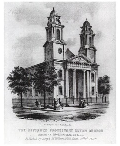 First Church in Albany designed by Philip Hooker