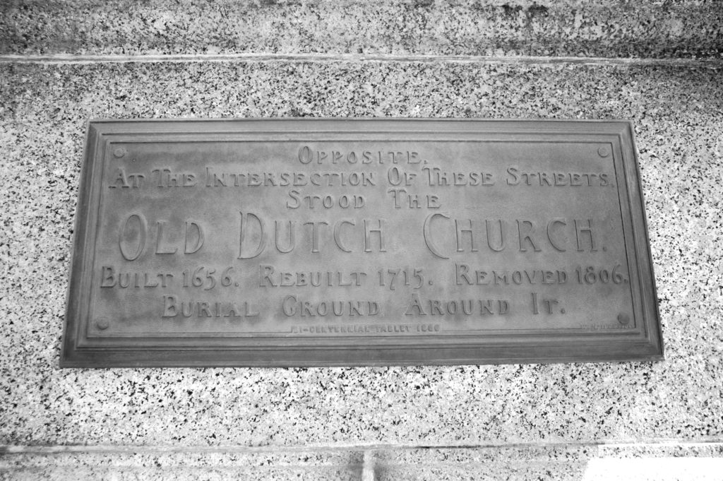 Old Dutch Church Bicentennial Marker