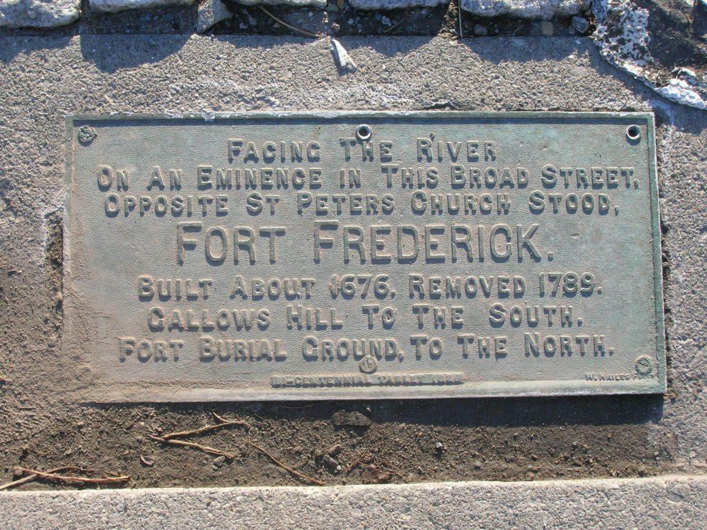 Fort Frederick Marker