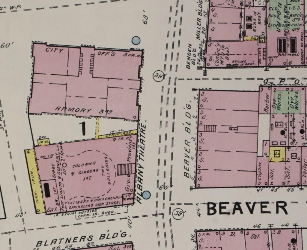 Tablet 9 Beaver Block Sanborn 1892
