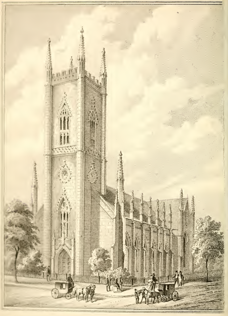 The third First Presbyterian Church, circa 1850